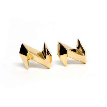 Gold Vermeil Thunder Earrings
