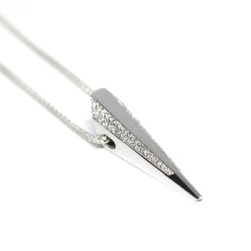 Diamond Pike Pendant - 0.52 ct