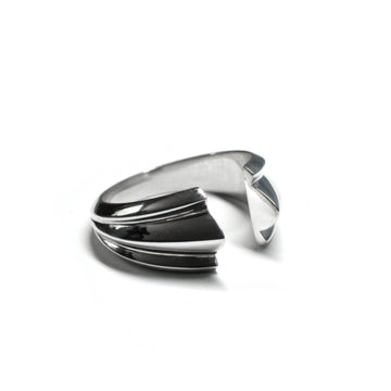 Silver Large Open Ring