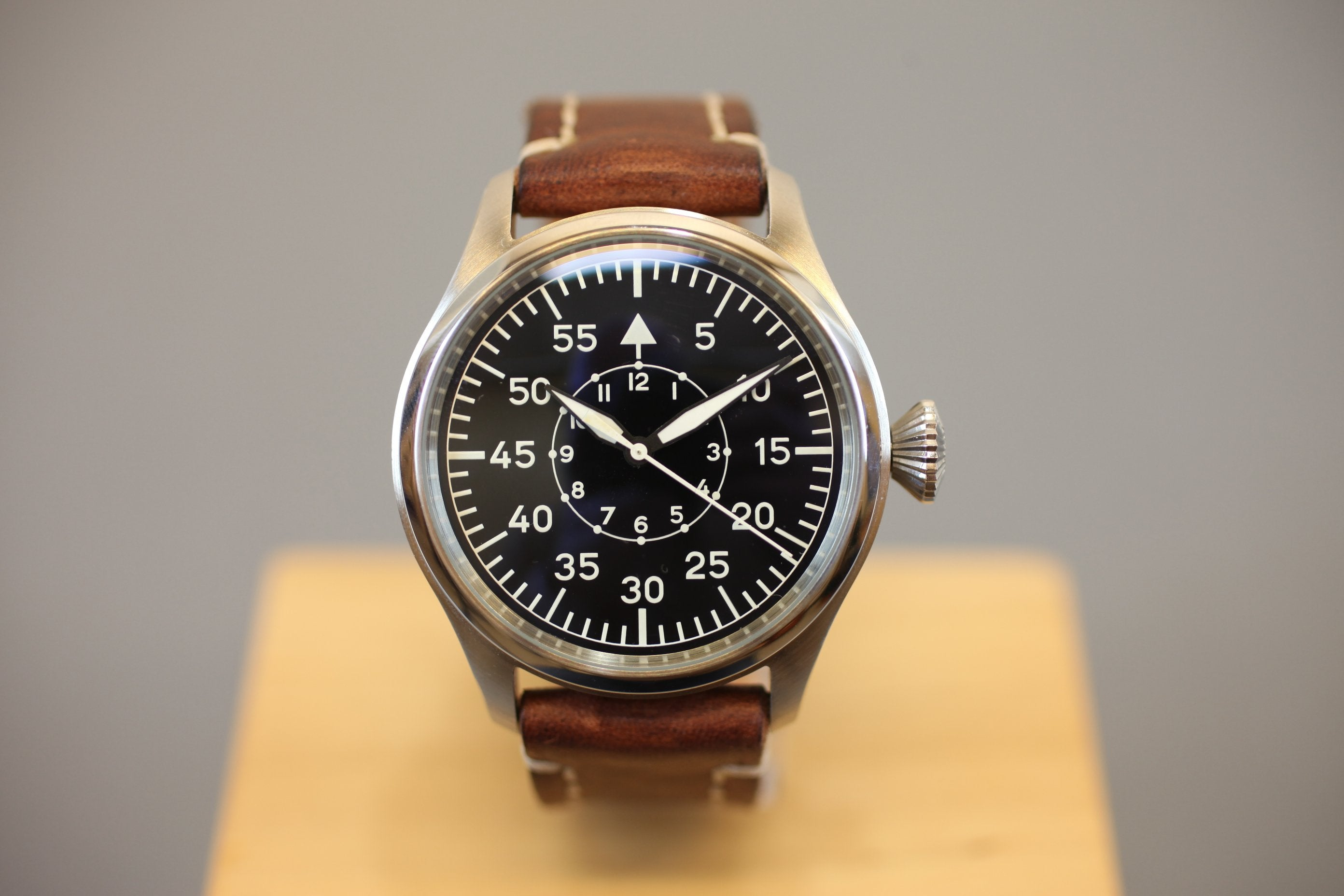 Big Pilot Watch 47mm - Waterproof Automatic Sports Watch - Handmade Watch