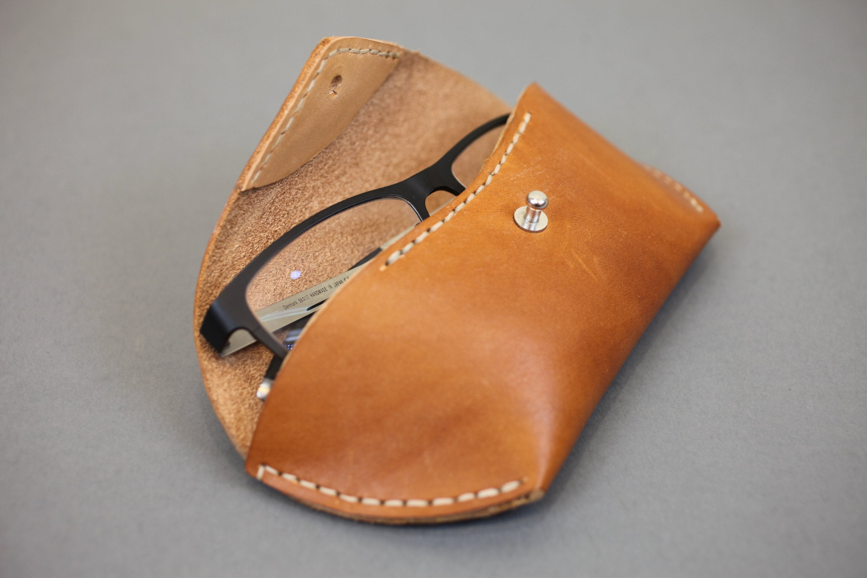 Ray Ban Case Hommage No 1 - Spectacles Case - Handmade Leather Case - Glasses Case