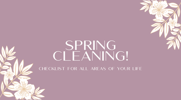 Spring Cleaning Checklist! | Heather Grace Skin Care