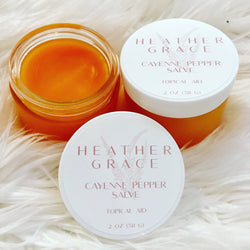 Cayenne Pepper Salve - Heather Grace Skin Care