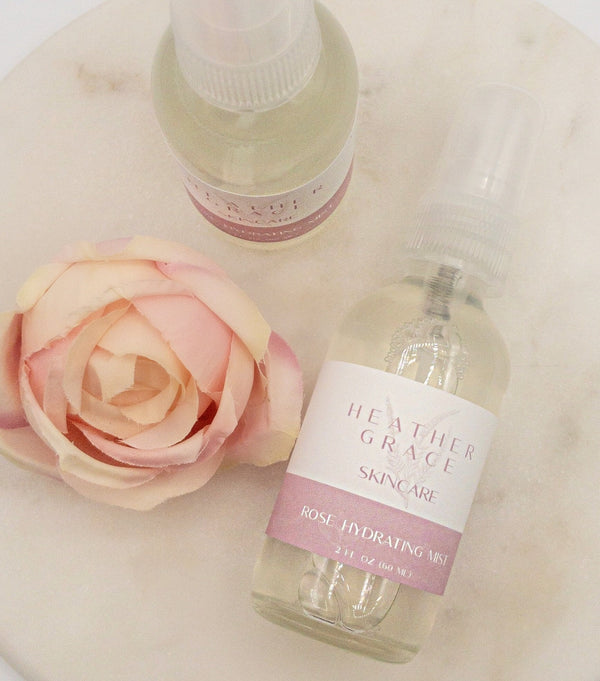 Hydrating Rose Mist - Heather Grace Skin Care