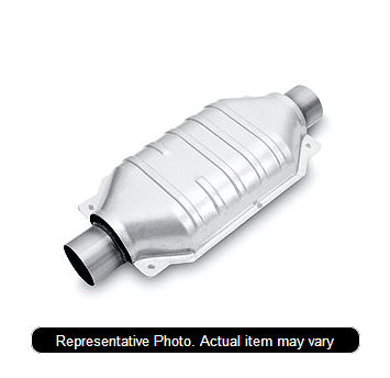 Magna Flow 24424 - Heavy Metal Stainless Steel Exhaust Manifold with Integrated Catalytic Converter