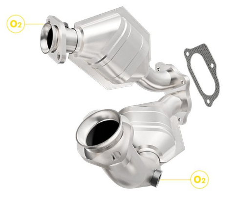 Magnaflow 441119 Catalytic Converter - Direct-Fit