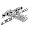 Image of MagnaFlow 444030 - OBDII Stainless Steel Exhaust Manifold with Integrated Catalytic Converter