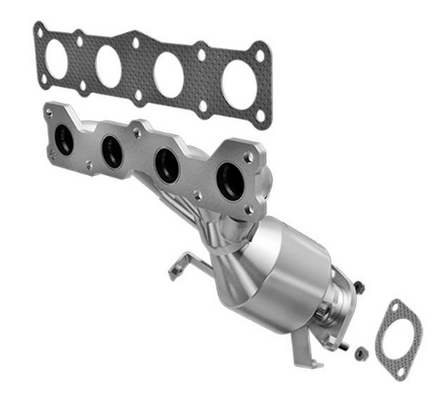 MagnaFlow 452047 - Stainless Steel Exhaust Manifold with Integrated Catalytic Converter