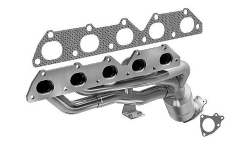 MagnaFlow 452383 - Stainless Steel Exhaust Manifold with Integrated Catalytic Converter