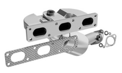 MagnaFlow 452431 - Stainless Steel Exhaust Manifold with Integrated Catalytic Converter