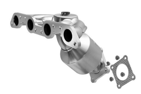 MagnaFlow 452651 - Stainless Steel Exhaust Manifold with Integrated Catalytic Converter