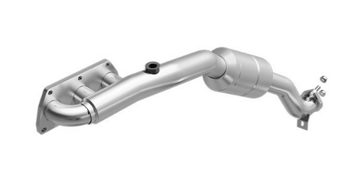 MagnaFlow 452791 - Stainless Steel Exhaust Manifold with Integrated Catalytic Converter