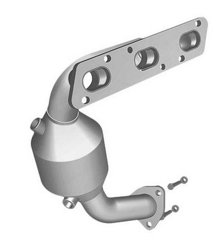 MagnaFlow 51232 - OEM Grade Stainless Steel Exhaust Manifold with Integrated Catalytic Converter