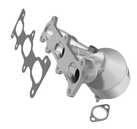 MagnaFlow 51280 - OEM Grade Stainless Steel Exhaust Manifold with Integrated Catalytic Converter