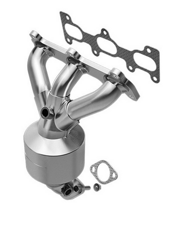 MagnaFlow 51387 - OEM Grade Stainless Steel Exhaust Manifold with Integrated Catalytic Converter
