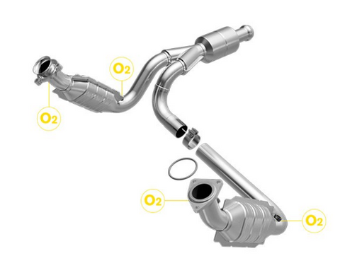 MagnaFlow 51578 - OEM Grade Direct Fit Catalytic Converter