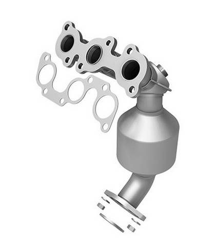MagnaFlow 51610 - OEM Grade Stainless Steel Exhaust Manifold with Integrated Catalytic Converter