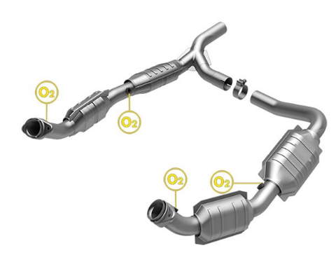 MagnaFlow 51640 - OEM Grade Direct Fit Catalytic Converter