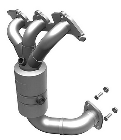 MagnaFlow 51735 - OEM Grade Stainless Steel Exhaust Manifold with Integrated Catalytic Converter