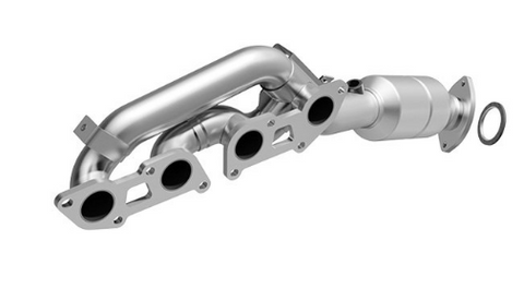MagnaFlow 51881 - OEM Grade Stainless Steel Exhaust Manifold with Integrated Catalytic Converter