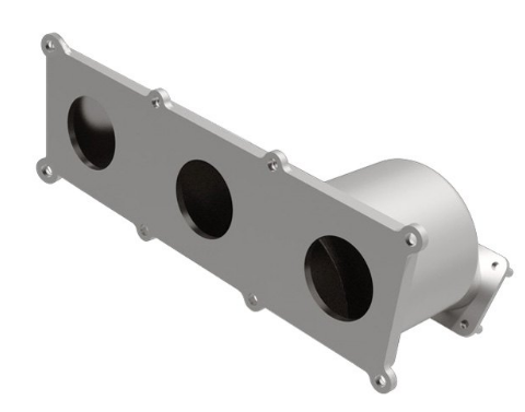 MagnaFlow 52168 - OEM Grade Stainless Steel Exhaust Manifold with Integrated Catalytic Converter
