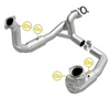 Image of MagnaFlow 52297 - OEM Grade Direct Fit Catalytic Converter