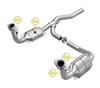 Image of Magna Flow 545187 - OBDII Direct Fit Catalytic Converter