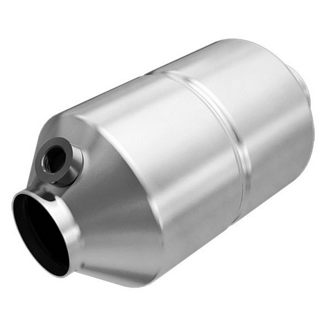 MagnaFlow 545335 - OBDII Universal Fit Round Body Catalytic Converter