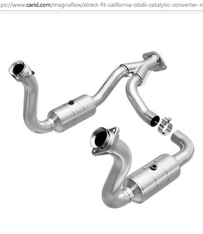 Magna Flow 545760 - OBDII Direct Fit Catalytic Converter