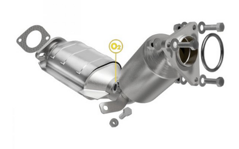 MagnaFlow 551143 - OBDII Direct Fit Catalytic Converter