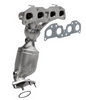 Image of MagnaFlow 553295 - Stainless Steel Exhaust Manifold with Integrated Catalytic Converter
