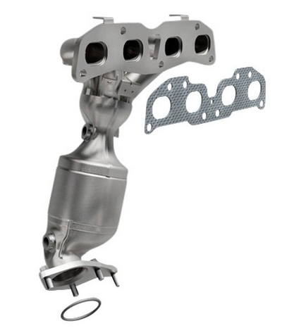 MagnaFlow 553295 - Stainless Steel Exhaust Manifold with Integrated Catalytic Converter