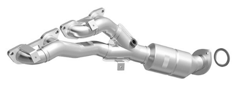 MagnaFlow 553868 - Stainless Steel Exhaust Manifold with Integrated Catalytic Converter