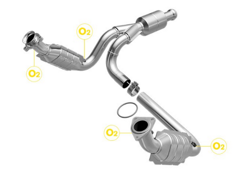 MagnaFlow 558578 - OBDII Direct Fit Catalytic Converter