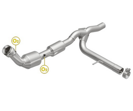 Magna Flow 558744 Direct Fit Catalytic Converter