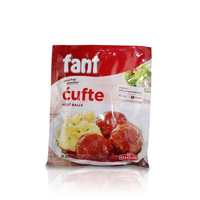 Fant Meatballs Seasoning Mix - Cufte