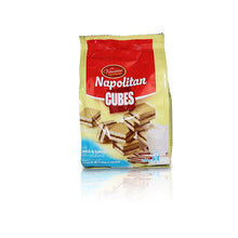 Load image into Gallery viewer, Napolitan Cubes with Milk & Cocoa Cream Filling