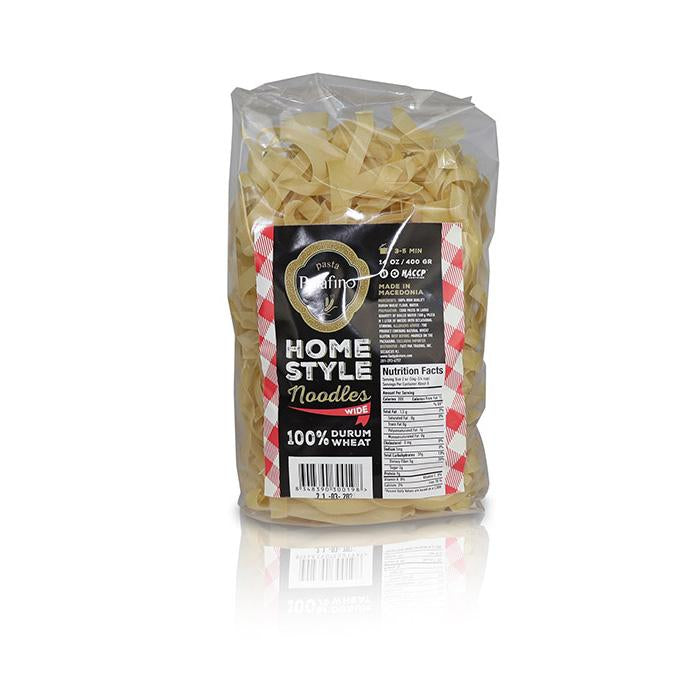 Wide Noodles - 100% Durum Wheat