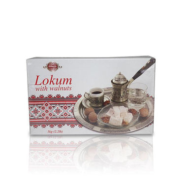 Lokum with Walnuts