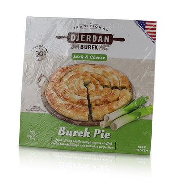 Burek Pie - Leek & Cheese