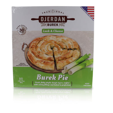 Burek Pie (Leek & Cheese)