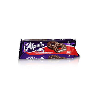 Alpella Ring - Chocolate Cookie with Marshmallow