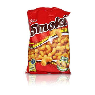 Smoki with Fresh Peanuts