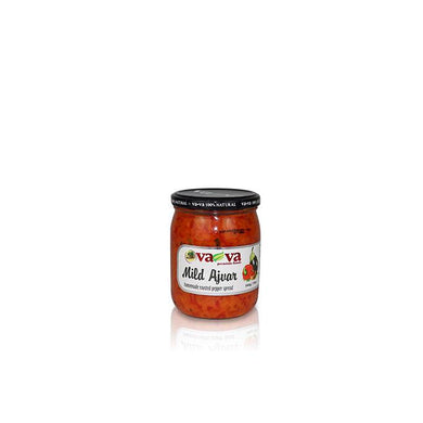 Mild Ajvar - Homemade Roasted Pepper Spread