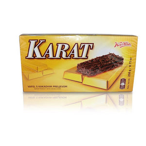 Wafer Product with Cocoa Cover - Karat Vafel s Kakaovim Preljevom