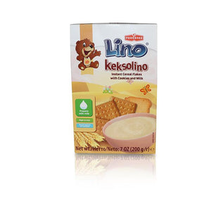 Lino Keksolino - Cereal Flakes with Cookies and Milk