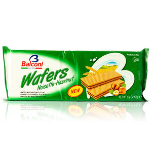 Wafers Noisette Hazelnut