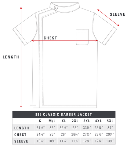 889-Classic-Barber-Jacket-Size-Chart