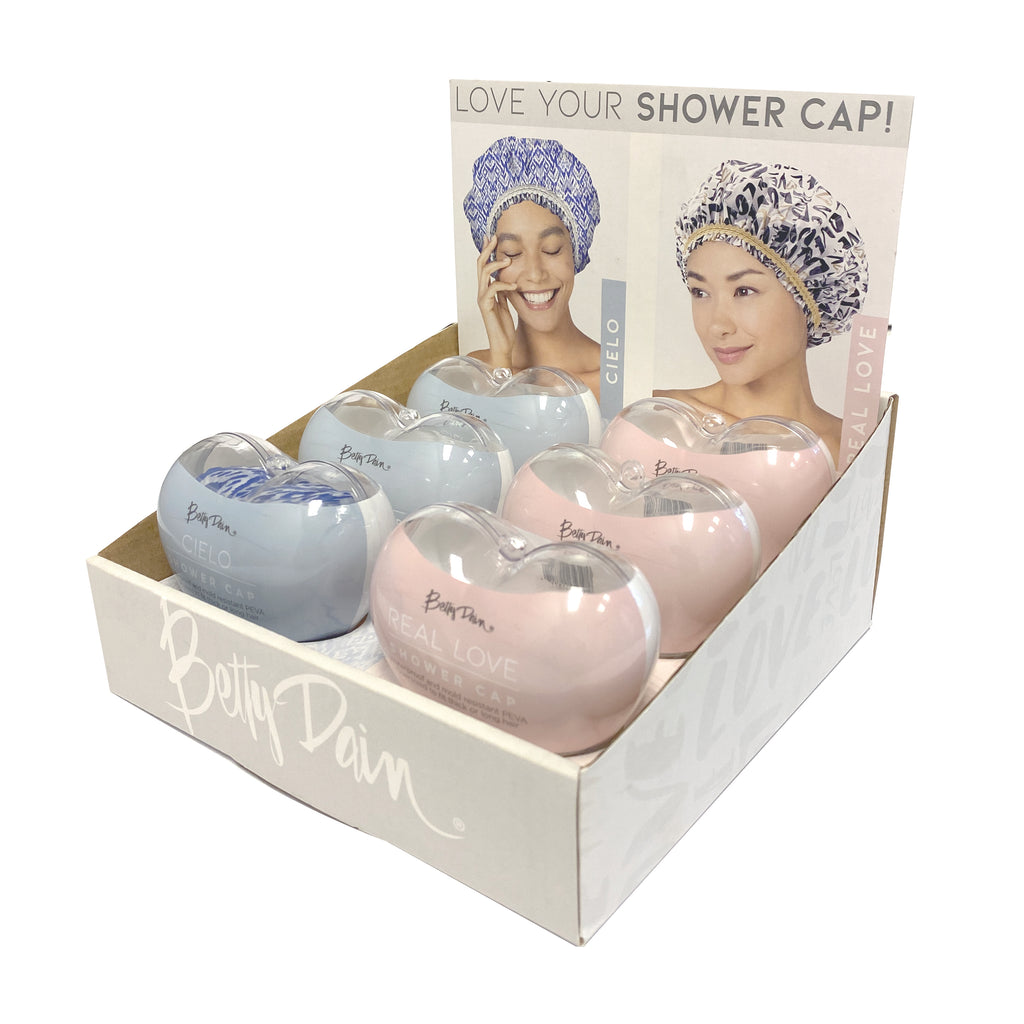 Shower Cap Display for Salon Upsell | Salon Upsell Accessories Shower Caps