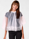 Betty Dain Comb Out Cape |  Short Lace Hair Styling Cape